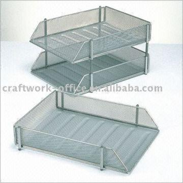 Delightful ... China Mesh Office Stationary Stackable Letter Tray Ld01 119 5