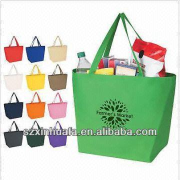 promotional tote bags promotional cheap logo shopping bags ...