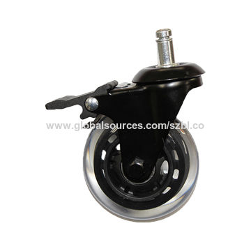 3 Rollerblade Office Chair Wheels Pu Casters