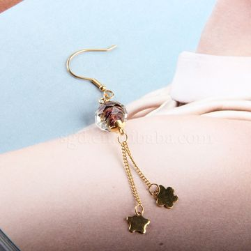 China 2017 New Design Simple Gold Earrings Designs For Women