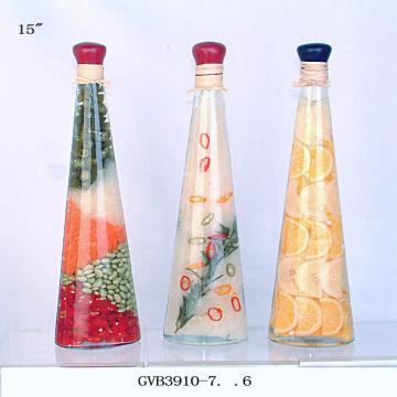 40inch Vinegar Bottle Filled With Vegetables Ideal For Decoration Mesmerizing Decorative Bottles With Vegetables In Vinegar