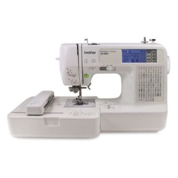 Brother LB40 Embroidery Sewing Machine ComboUSBWarranty Mesmerizing Brother Embroidery Sewing Machine