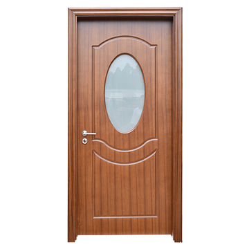 China Frosted Glass Design Interior Wooden Pvc Toilet Bathroom Door Price On Global Sources