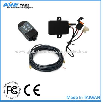 Taiwan AVE-T10010TC full time transmit TPMS tire pressure monitoring system for truck/bus/trailer/van/tow