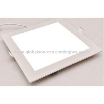 China ultra thin led panel light 9W recessed