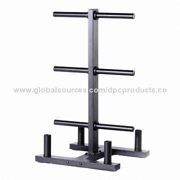 ... China Weight Plate Storage Rack and Bar Holder  sc 1 st  Global Sources & Weight Plate Storage Rack and Bar Holder Made for Plates with 2 ...