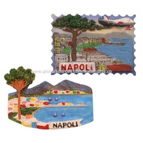 fdeeb6d87ca7 China 3D Napoli City Refrigerator Magnets for Souvenir Gifts, ODM/OEM  Orders are Welcome ...