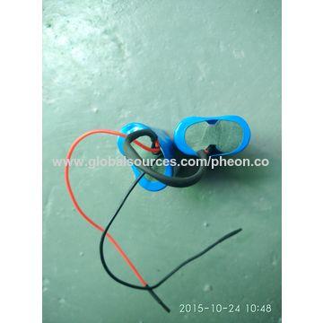 China 7.4V 4400mAh Lithium-ion battery pack