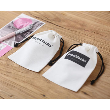961811c74 ... China Personalized Logo Printed Custom White Bag Cotton Canvas  Drawstring Pouches Gift Packaging Bag ...