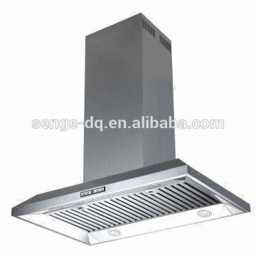 china stainless steel range hood bbq cfm exhaust fan