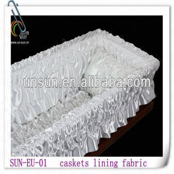 caskets lining fabric and casket liner cloth | Global Sources
