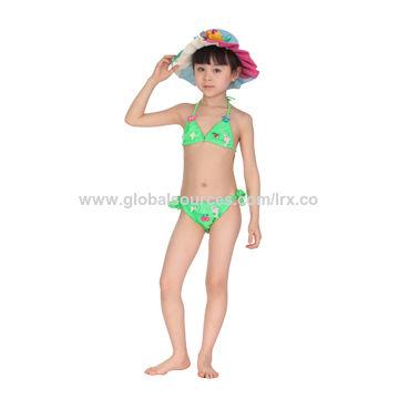72268b19cd Girl's bikini. China Children's Clothing Summer Cartoon 2016 Kids Bikini  Swimwear