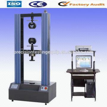 WDW-50 50kn TECO Servo Motor Load Cell Ball Screw Universal Testing