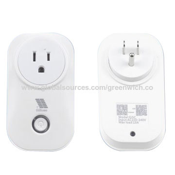 China  Smart WiFi Smart Outlet Power Socket