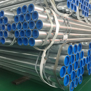 china hot dipped galvanized steel pipe bs4568 threaded on both ends electrical conduit