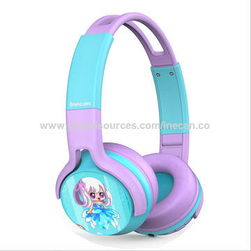 China Kids Bluetooth Headphone 85db Volume Bluetooth Foldable Headphones On Ear Headsets Built In Micphone On Global Sources