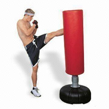 Punching Bag With Protective Cover Pressurized Stem And