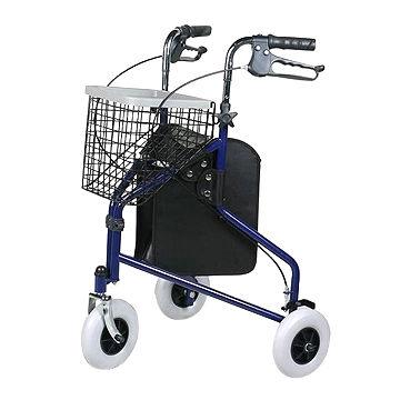 Taiwan Walking Aid Delta Rollator Shopping Cart, Made of Powder ...