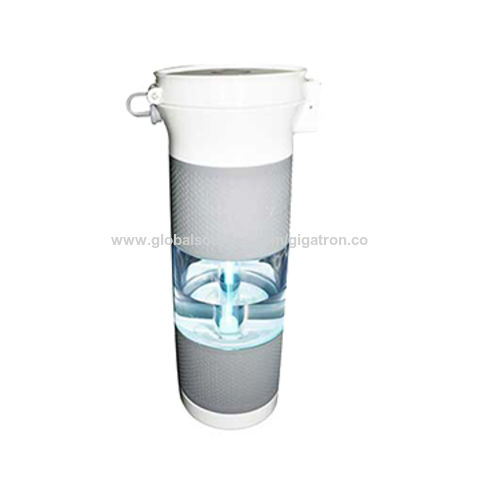 China Portable UV lamp Activated Carbon Plastic Water Filter