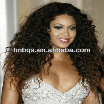 top quality thin skin afro kinky curly brazilian human
