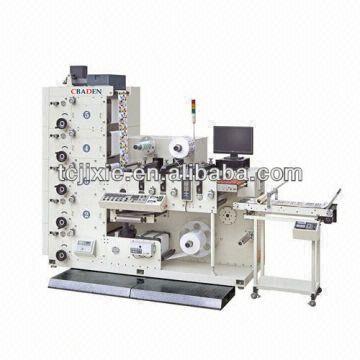 china sb320 three color lottery ticket printing machine