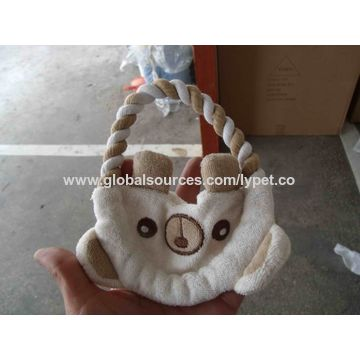 Pet toy of cotton rope