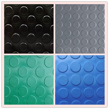 china anti slip pvc floor coin mat - Plastic Floor Mat