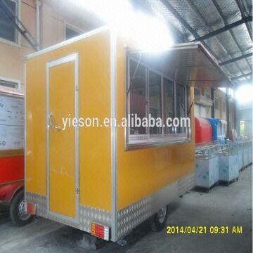 Yieson Hot Sale outdoor coffee kiosk,outdoor fast food kiosk,outdoor