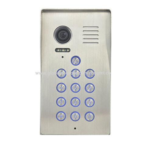 China Villa Video Intercom System With Metal Keypad, Video Doorphone, Door  Entry System ...