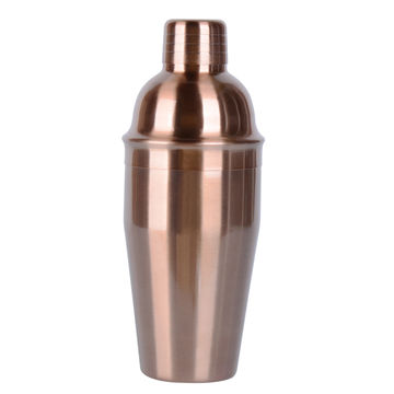 Color painted stainless steel 550mL cocktail shaker