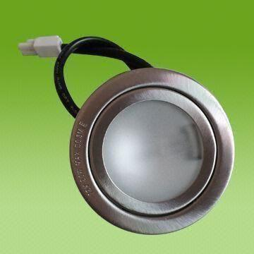China Halogen Cooker Range Kitchen Hood Light With Stainless Steel Housing Round Shape