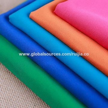 China Cheap price dyeing twill peach skin micro fiber fabric