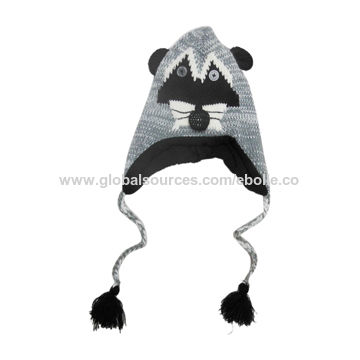 de0d89c2487 China Newest Style of Bear Head Children s Winter Hats