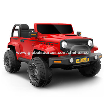 China Two Seats 12v Big Jeep Ride On Car Toy Electric Kid Car 2018