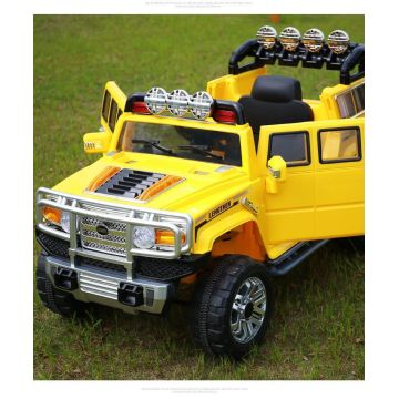 Hummer Style Kids Ride On Battery Powered Electric Car With Remote