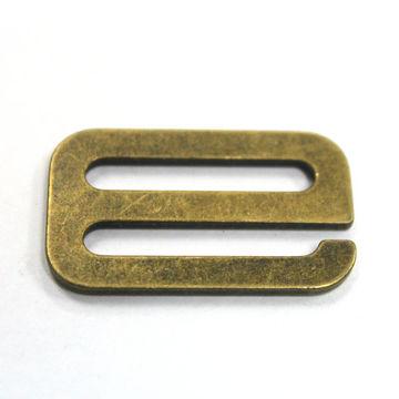 6b57a84e58b5a 20 33MM factory Wholesale Bra Accessories 9 Antique Brass Metal Bikini  Buckle