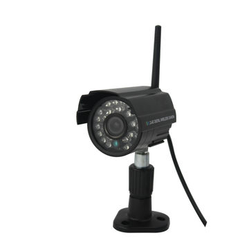 Indoor/Outdoor Digital Wireless USB Network IR Camera Kit with Motion Detection Record