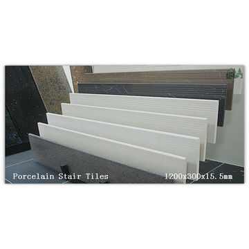China 1200x300x15.5mm + Full Body +granite/marble Look + Polished Porcelain  Stair