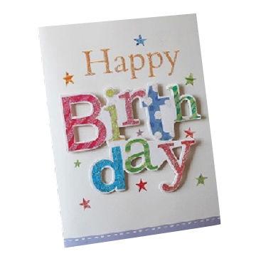 Customized Birthday Singing Greeting Cards