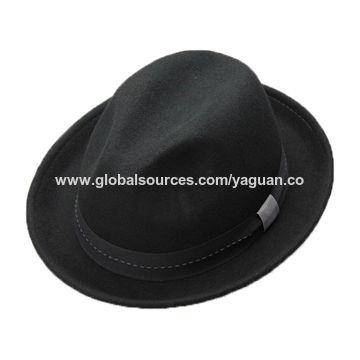 d30f4eb9 Wide brim wool felt women fedora hat | Global Sources