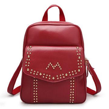 dece9e9b78 Hong Kong SAR 2015 fashion hot sale PU leather backpack purses on ...