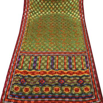 Vintflea Indian Vintage Pure Silk Sari