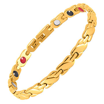 Saudi Arabia Jewelry Gold Jewelry Bracelet Wristband for Men
