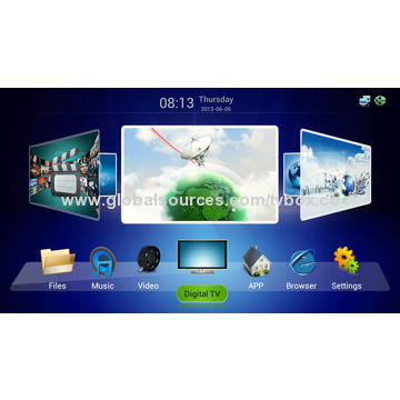 DVB-C Tuner receiver STB with Android tv box hybird box XBMC pr-load