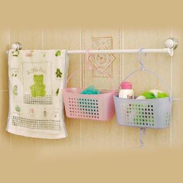 Taiwan Hanging Basket For Bathroom Use And More