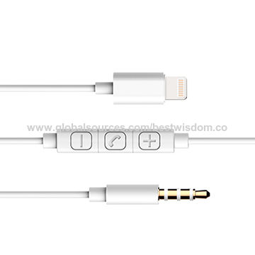 ... China 90cm Male 3.5mm Jack to Male 8-pin Lightning Cable  sc 1 st  CYD Electronics (Shenzhen) Co. Ltd - Global Sources & China 90cm Male 3.5mm Jack to Male 8-pin Lightning Cable from ...