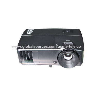 China DLP 3000 ANSI Lumens 809UP Full HD 3D Mini LED Projector for Education/Business HDMI