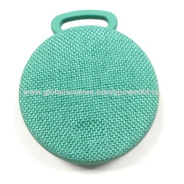 China Sports IPX6 Water-resistant Fabric Bluetooth Speaker, Hook, Portable, Handsfree