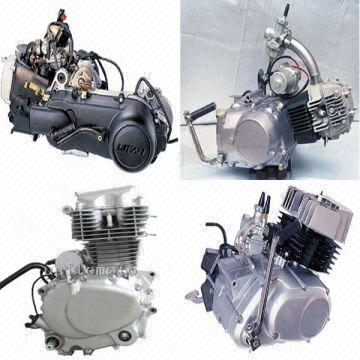 engine parts,horizontal engine,AX100 engine,scooter parts
