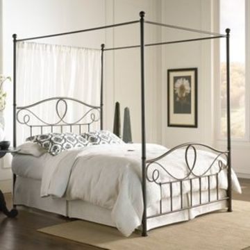 1 Cheap Canopy Metal Bed Frame 2 Folding Bed Base Self Lock